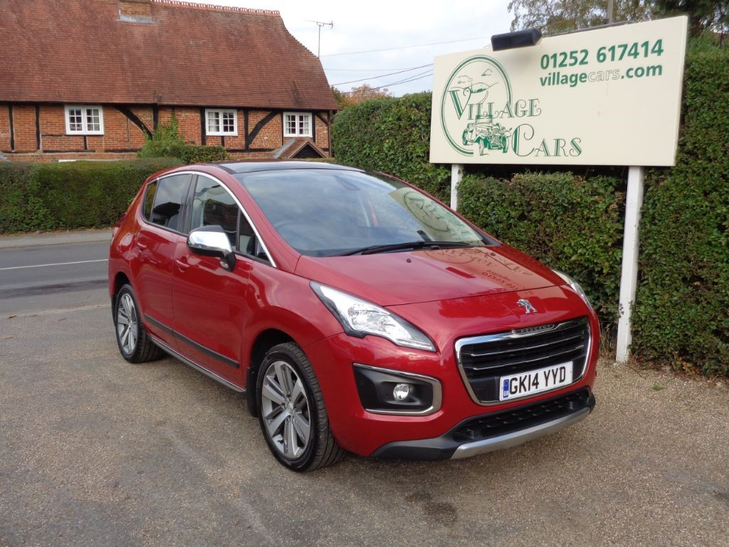 used Peugeot 3008 HDI ALLURE Full Service History Panoramic Sunroof   2x keys  Warranty Incl in fleet