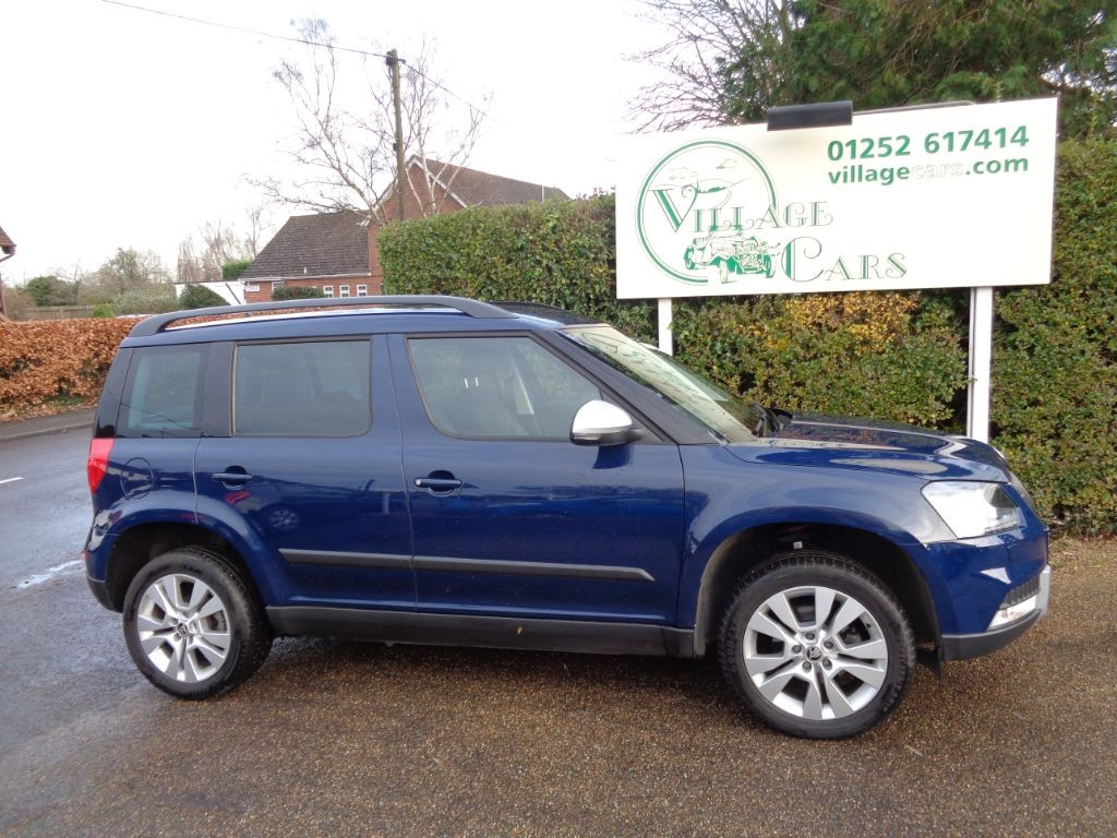 used Skoda Yeti OUTDOOR SE L TDI SCR 1 OWNER HEATED LEATHER FULL SKODA HISTORY £30 TAX in fleet