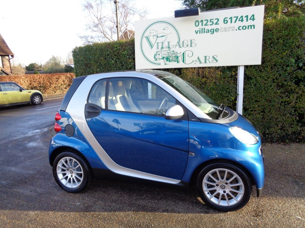 used Smart Car Fortwo Coupe PASSION AIR CON FULL HISTORY LONG MOT LOW ROAD TAX  in fleet