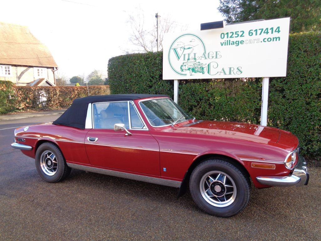 used Triumph Stag 3.0 in fleet