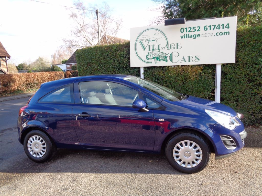 used Vauxhall Corsa S ECOFLEX ONE OWNER £30 TAX LOW MILEAGE in fleet