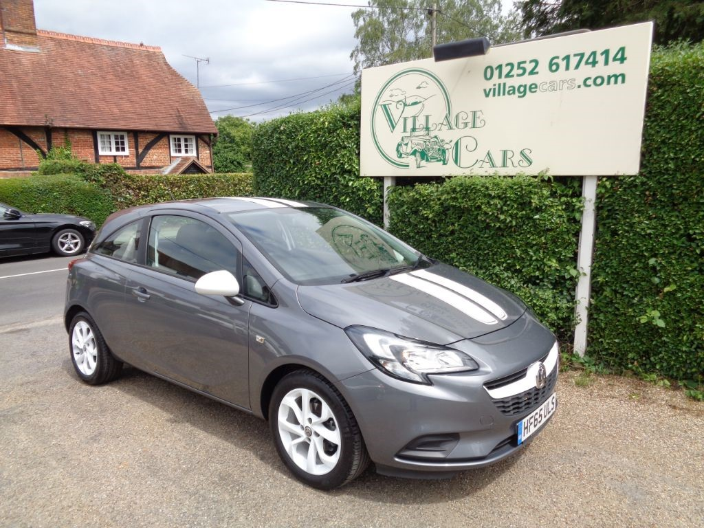 used Vauxhall Corsa STING ECOFLEX LOW TAX BLUETOOTH FULL HISTORY in fleet