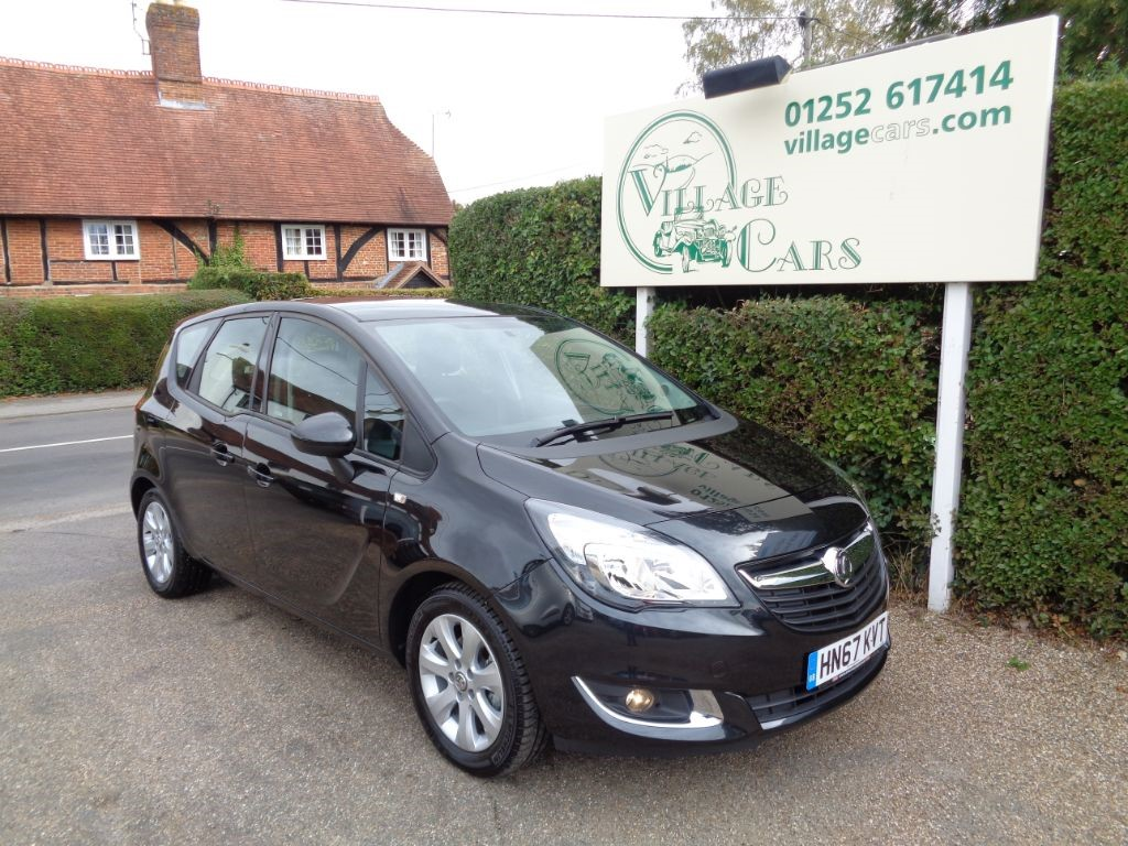 used Vauxhall Meriva LIFE 3,000 MILES FROM NEW in fleet