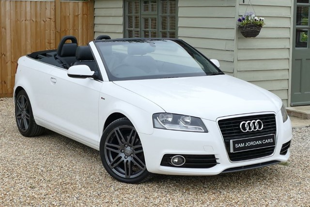 used Audi A3 2.0 TDI S LINE CABRIOLET in bury-st-edmunds-suffolk