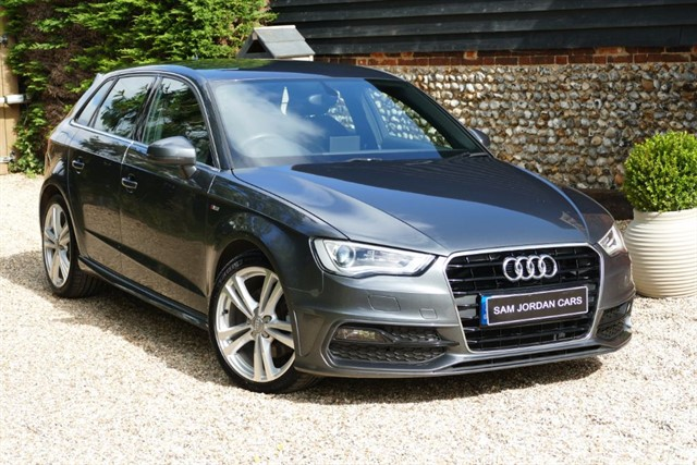 used Audi A3 2.0 TDI 184 S LINE SPORTBACK in bury-st-edmunds-suffolk