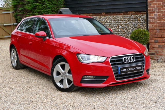used Audi A3 1.4 TFSI SPORT in bury-st-edmunds-suffolk