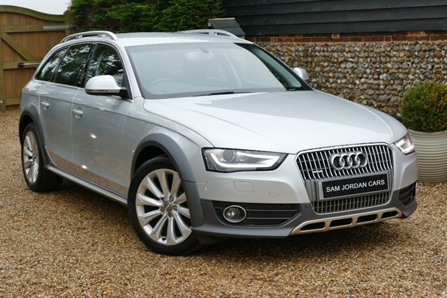 used Audi A4 allroad 2.0 TDI S-TRONIC QUATTRO in bury-st-edmunds-suffolk