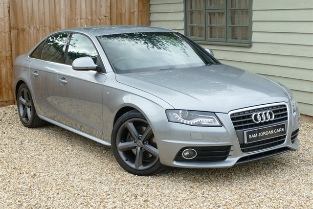 used Audi A4 2.0 TDI S LINE in bury-st-edmunds-suffolk