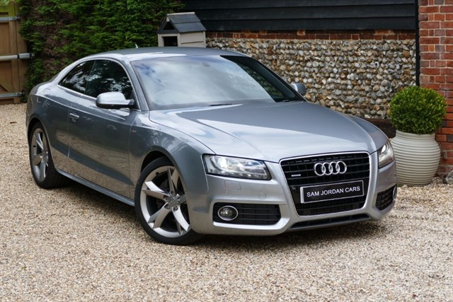 used Audi A5 3.0 TDI QUATTRO S LINE SPECIAL EDITION in bury-st-edmunds-suffolk