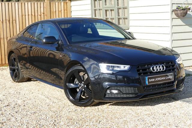 used Audi A5 2.0 TDI S LINE BLACK EDITION in bury-st-edmunds-suffolk