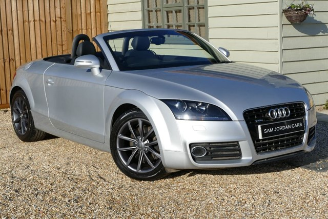 used Audi TT 2.0 TDI QUATTRO SPORT S-TRONIC in bury-st-edmunds-suffolk