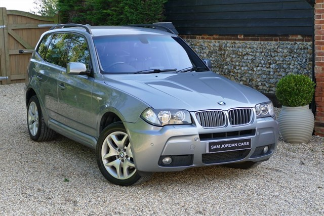 used BMW X3 3.0D M SPORT AUTOMATIC in bury-st-edmunds-suffolk