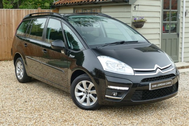 used Citroen C4 GRAND PICASSO EDITION HDI in bury-st-edmunds-suffolk