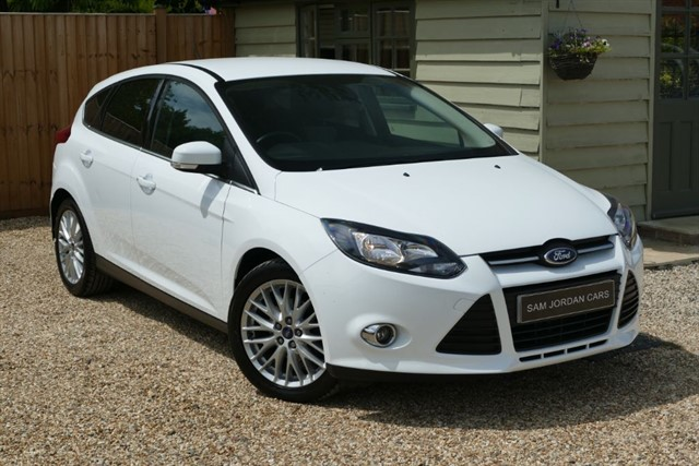 used Ford Focus 1.6 TDCI ZETEC NAVIGATOR in bury-st-edmunds-suffolk