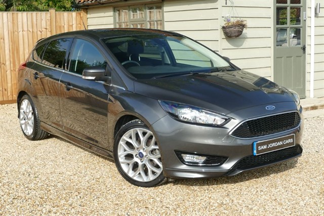 used Ford Focus ZETEC S 1.5 TDCI in bury-st-edmunds-suffolk