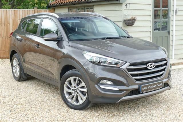 used Hyundai Tucson 1.7 CRDI SE BLUE DRIVE in bury-st-edmunds-suffolk