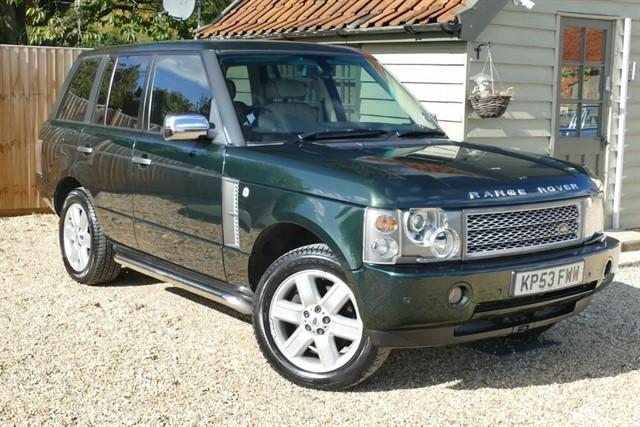 used Land Rover Range Rover 4.4 V8 VOGUE in bury-st-edmunds-suffolk