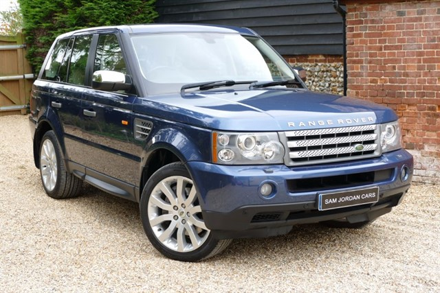used Land Rover Range Rover Sport TDV8 SPORT HSE in bury-st-edmunds-suffolk