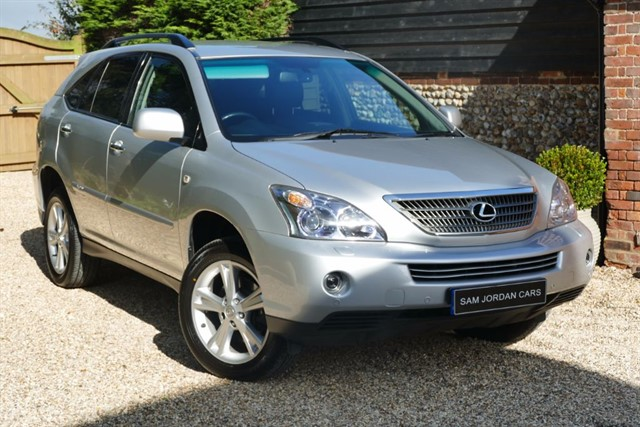 used Lexus RX 400h 3.3 EXECUTIVE Ltd Edition in bury-st-edmunds-suffolk