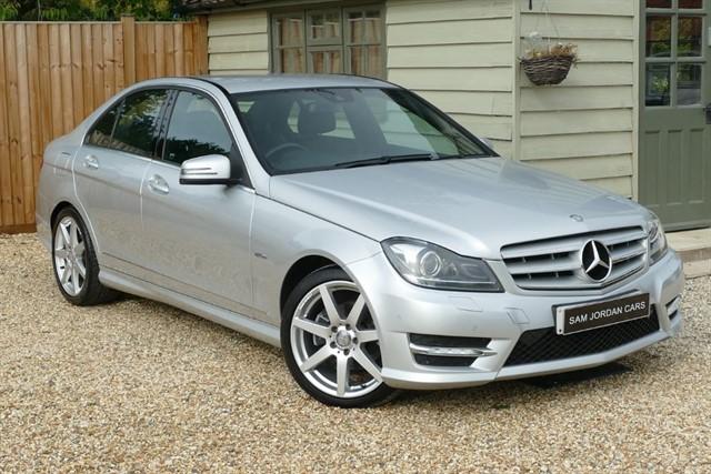 used Mercedes C220 CDI SPORT BLUEEFFICIENCY in bury-st-edmunds-suffolk