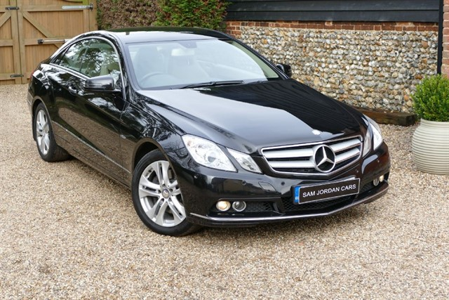 used Mercedes E350 CDI SE Coupe in bury-st-edmunds-suffolk