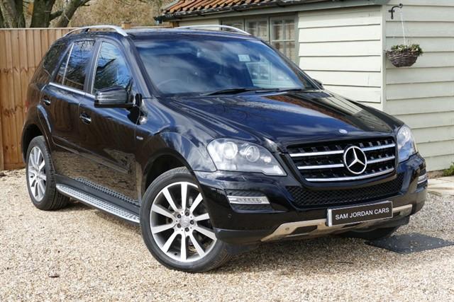 used Mercedes ML300 CDI GRAND EDITION BLUEFFICIENCY in bury-st-edmunds-suffolk