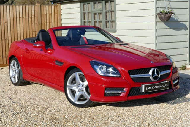 used Mercedes SLK SLK250 CDI BLUEEFFICIENCY AMG SPORT in bury-st-edmunds-suffolk