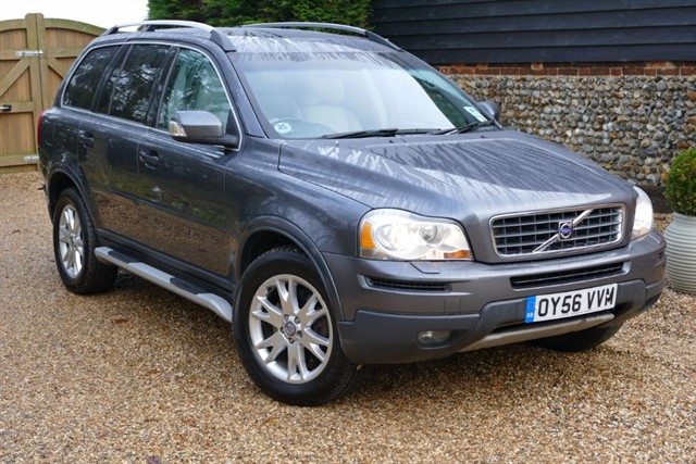 used Volvo XC90 D5 SE LUX AWD Geartronic in bury-st-edmunds-suffolk