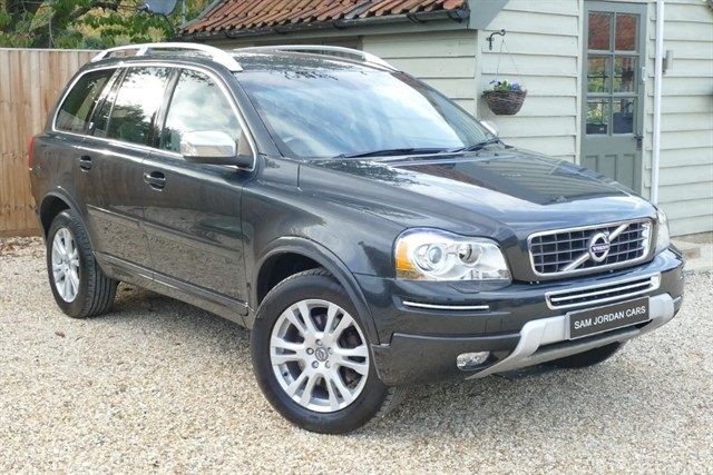 used Volvo XC90 D5 EXECUTIVE AWD in bury-st-edmunds-suffolk