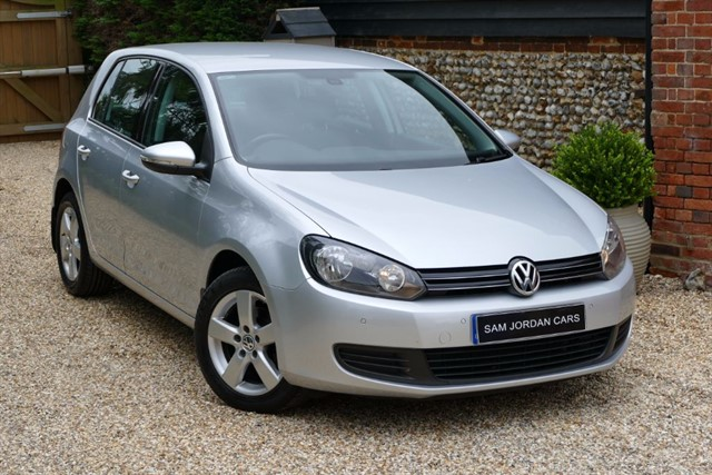 used VW Golf MATCH 1.6 TDI in bury-st-edmunds-suffolk