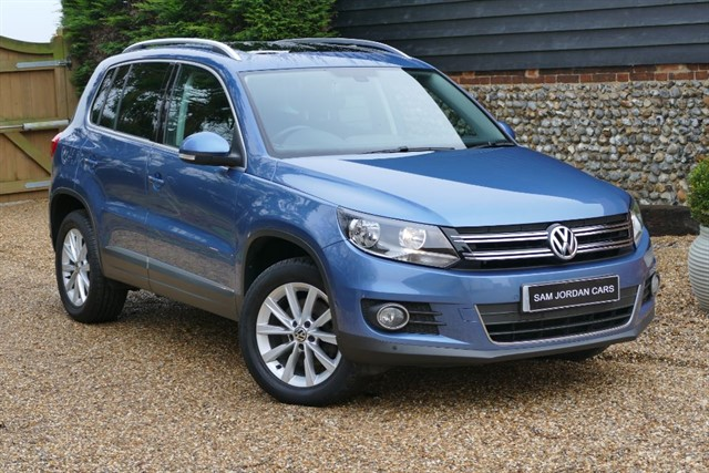 used VW Tiguan 2.0 TDI SE 4MOTION DSG BLUEMOTION TECHNOLOGY in bury-st-edmunds-suffolk