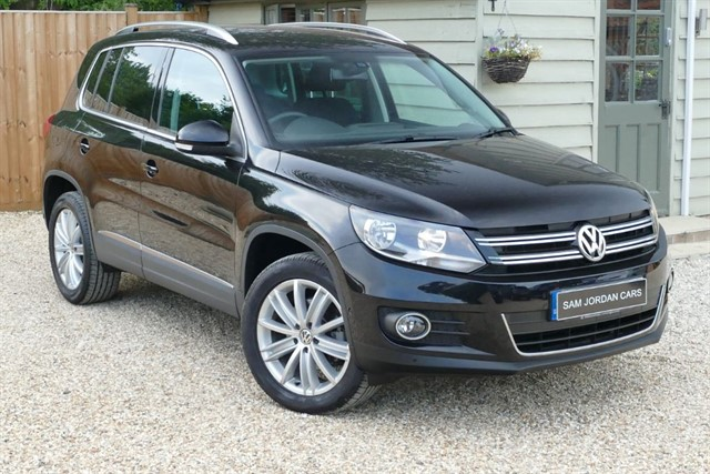used VW Tiguan MATCH EDITION TDI BMT 4MOTION in bury-st-edmunds-suffolk