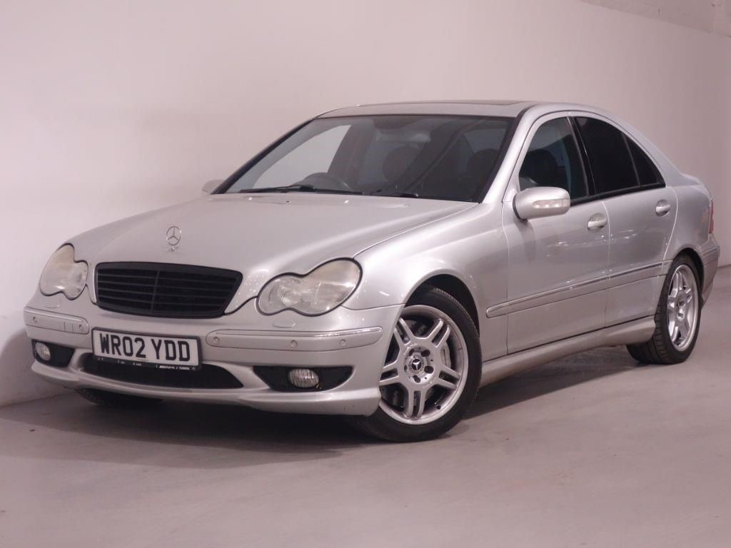 used silver mercedes c32 amg for sale hampshire. Black Bedroom Furniture Sets. Home Design Ideas