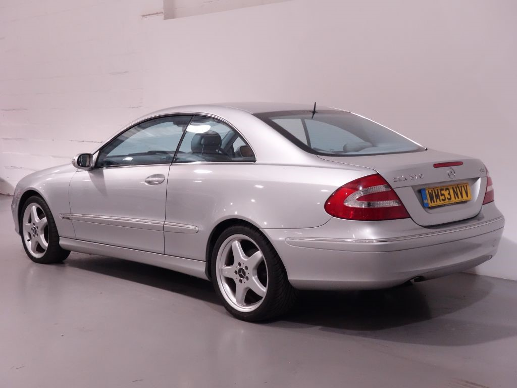 used silver mercedes clk270 cdi for sale hampshire. Black Bedroom Furniture Sets. Home Design Ideas