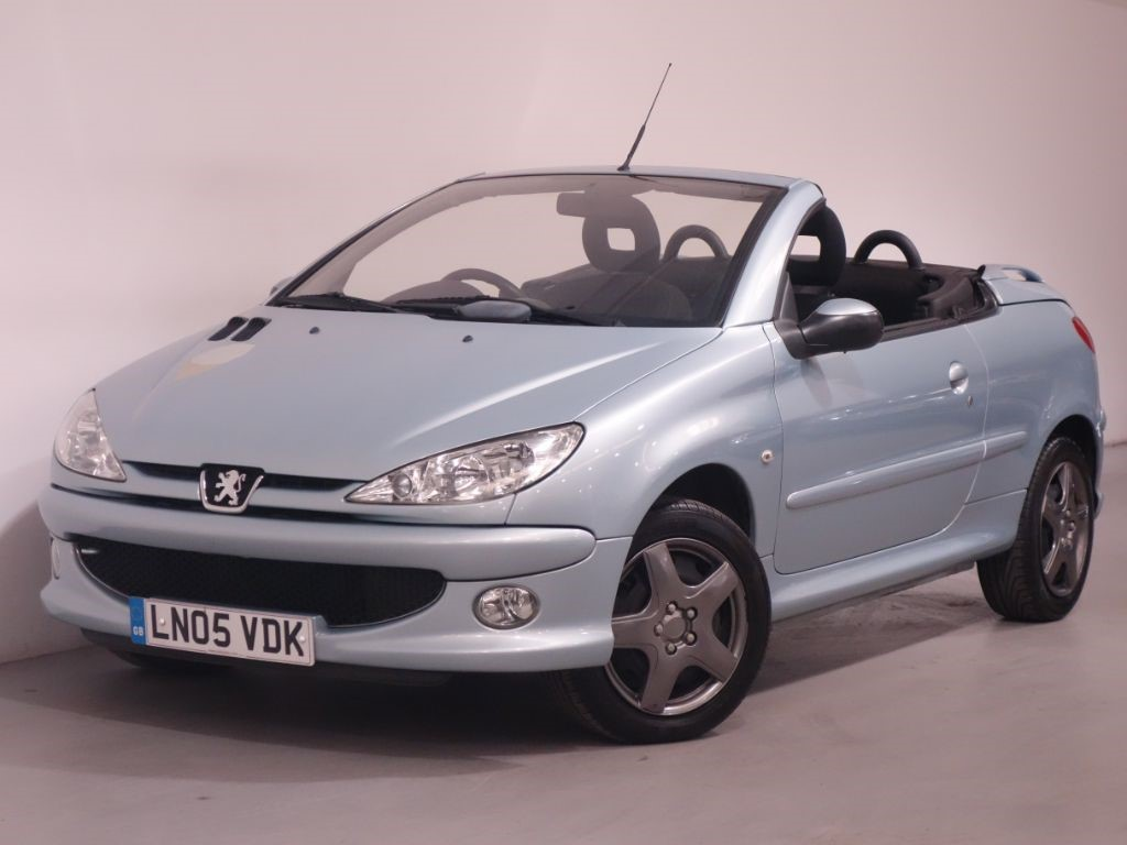 used silver peugeot 206 for sale hampshire. Black Bedroom Furniture Sets. Home Design Ideas