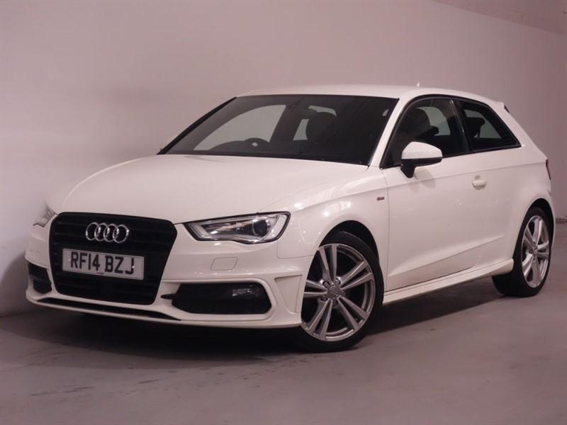used Audi A3 TDI S LINE - BLUETOOTH - SAT NAV - DAB - DRIVE SELECT - B&O SOUND- £20 tax in surrey