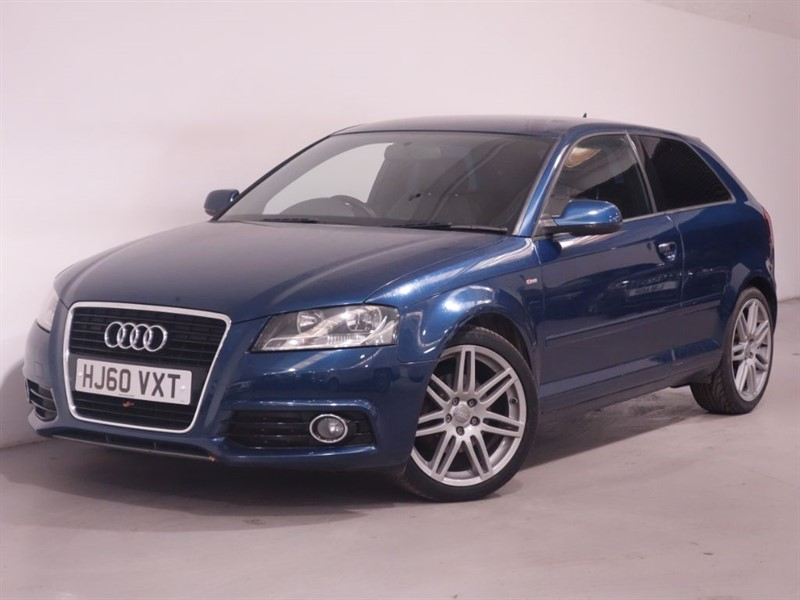 used Audi A3 TFSI S LINE - LEATHER - ULTRA LOW MILES - SAT NAV - AUTO START/STOP in surrey