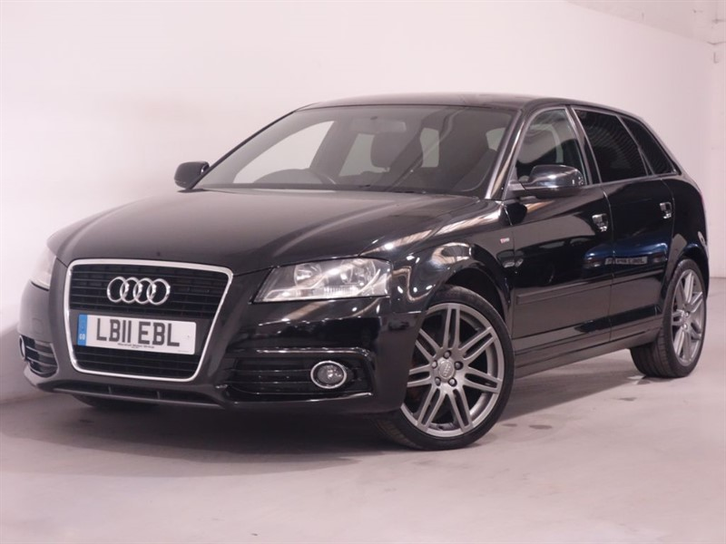 used Audi A3 TFSI S LINE - LEATHER - STRONIC GEARBOX - STUNNING EXAMPLE  in surrey