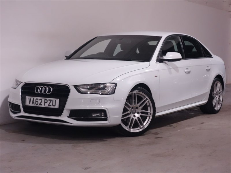 used Audi A4 TDI S LINE-AUTO-BANG AND OLUFSEN-BLUETOOTH-PARKING SENSORS-LEATHER-XENONS in surrey