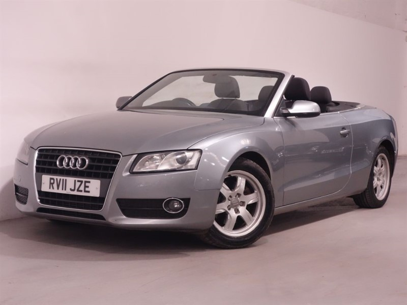 used Audi A5 TFSI - BLUETOOTH - CONVERTABLE - LOW MILES - AUDI MULTI MEDIA in surrey