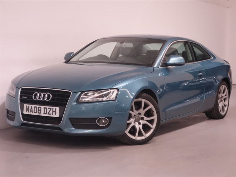used Audi A5 TDI QUATTRO SPORT - PARKING SENSORS - LEATHER INTERIOR - BLUETOOTH in surrey