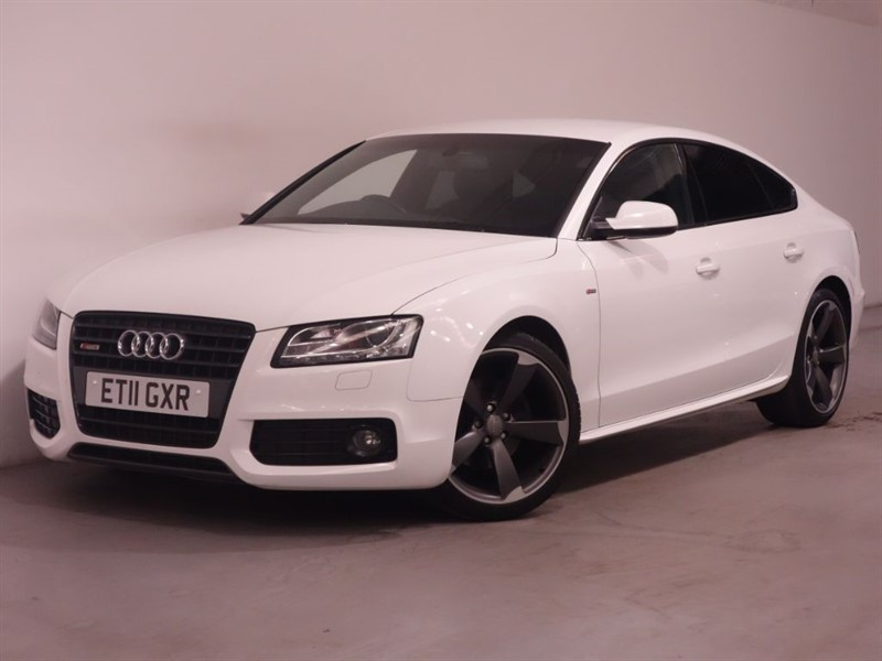 used Audi A5 SPORTBACK TDI S LINE - LOW MILES - LONG MOT - LEATHER - STUNNING EXAMPLE in surrey