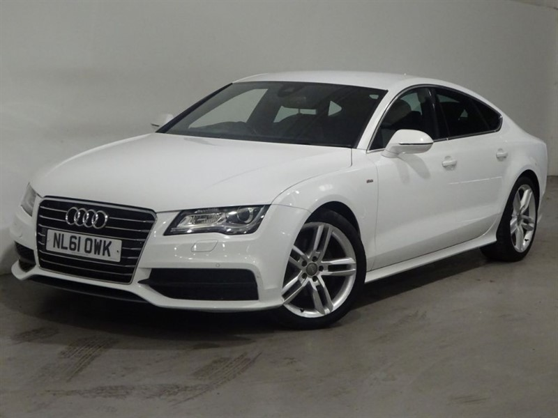 used Audi A7 TDI S LINE in surrey