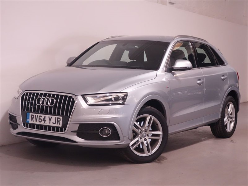 used Audi Q3 TFSI S LINE - LEATHER - SAT NAV - LOW MILES - BLUETOOTH in surrey