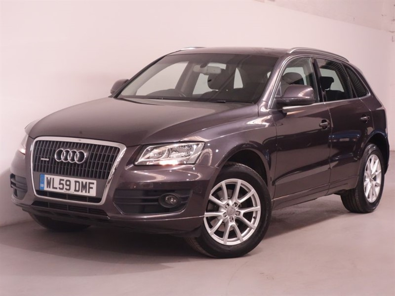 used Audi Q5 TDI QUATTRO SE DPF - PANORAMIC GLASS ROOF - SATNAV - FULL LEATHER - FSH  in surrey