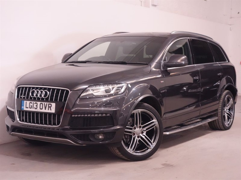used Audi Q7 TDI QUATTRO S LINE PLUS - LOW MILES - REVERSE CAMERA - LEATHER - BLUETOOTH in surrey