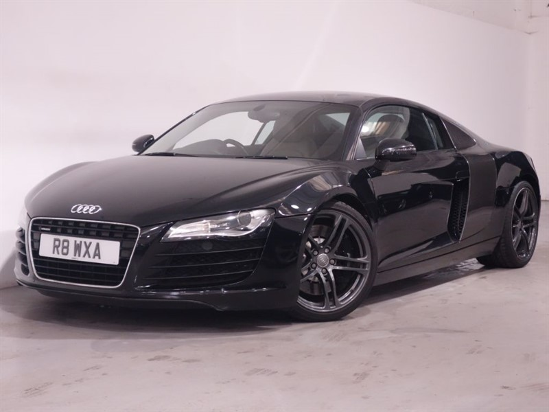 used Audi R8 QUATTRO -SATNAV- MAG RIDE - BANG & OLUFSEN SOUND -BLUETOOTH- PRIVATE PLATE in surrey