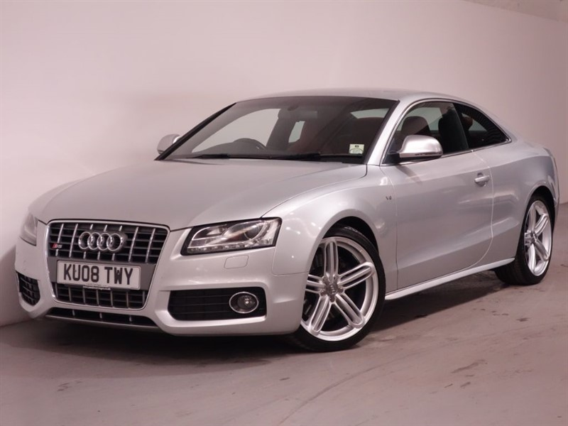 used Audi S5 S5 V8 QUATTRO - RED LEATHER - LOW MILES - STUNNING EXAMPLE in surrey