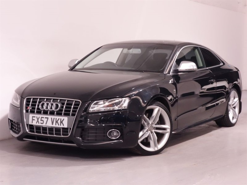 used Audi S5 S5 V8 QUATTRO-BLACK NAPPA LEATHER-XENONS-DRL LEDS-FULL SERVICE HISTORY in surrey