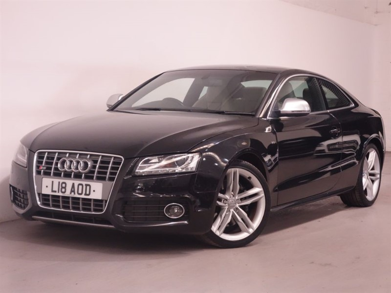 used Audi S5 S5 V8 QUATTRO - PRIVATE PLATE INCLUDED - BANG OLUFSEN SOUND - LOTUS WHITE L in surrey